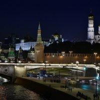 Ночная Москва. :: Виктор Твердун