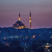 Стамбул после захода солнца :: Ирина Лепнёва