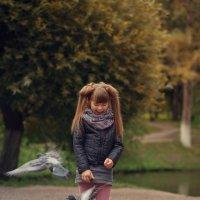 Саша и голуби 3 :: Женя Рыжов