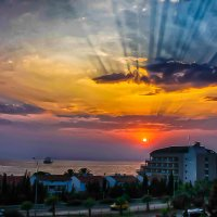 Фотография Друга и моя редакция Поселок Авсалар города Алания :: Юрий Плеханов