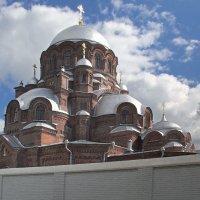Купола собора Предтеченского монастыря. Свияжск :: MILAV V