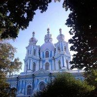 Санкт-Петербург. Смольный собор. :: Лариса (Phinikia) Двойникова