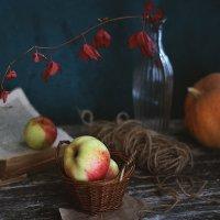 С яблоками и тыквой :: Liliya