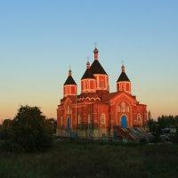 Церковь Иверской иконы Божией Матери (Борщевое) :: ninell nikitina