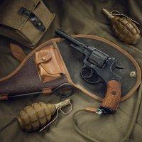 Револьвер системы Нагана обр. 1895 года :: Андрей Филиппов