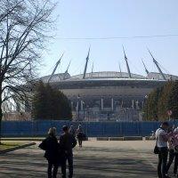 Стадион на Крестовском. :: Виктор Егорович