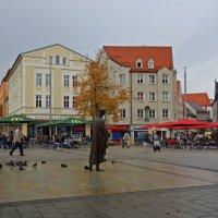 Осень в городе... Аугсбург... :: Galina Dzubina