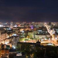 Новосибирск ночной. :: Александр Гурьянов