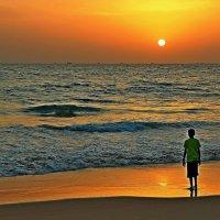 Море притягивает к себе наш взгляд, а земля — наши ноги... :: Вадим Якушев