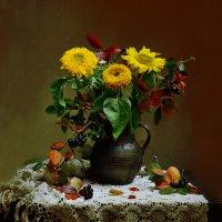 Осень стала хозяйкою мыслей... :: Валентина Колова