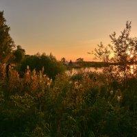 Вечер на Юксовском озере :: Леонид Иванчук