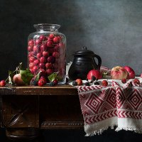 Райские яблочки :: Татьяна Карачкова