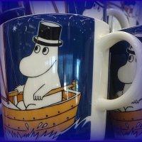 Кружка Moomin, Муми-папа синяя, 0,3л Moomin :: Вера