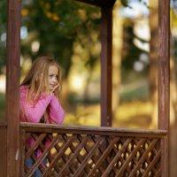Осень творит красоту красок, а мы ее с Викторией подчеркиваем :) :: Кристина Беляева