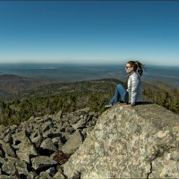 Взгляд с горы Пидан :: Сергей Данила