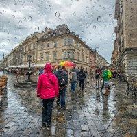 Дождь в Братиславе. :: Gene Brumer