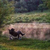 утренний сон на рыбалке :: юрий иванов