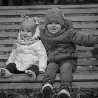 Братик и сестричка. :: Инта