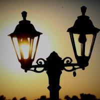 Солнечный фонарь :: Ольга Оригана Ваганова