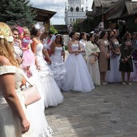 невесты построены :: Олег Лукьянов
