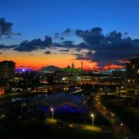 Закат над Олимпийским парком :: Kogint Анатолий