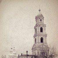 Колокольня / Дивеево :: Андрей Головкин