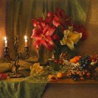 Оплавляются свечи, на старинный паркет... :: Валентина Колова