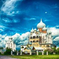 Питер Благовещенская церковь на Пискаревском проспекте :: Юрий Плеханов