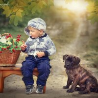 Мое детство :: Наталья Отраднова