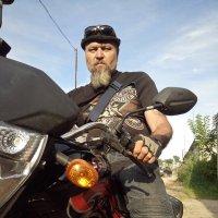 Как настоящий байкер :: Алексей Мамаев