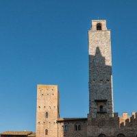 Сан-Джаминьяно. Башня Torre Rognosa. :: Надежда Лаптева