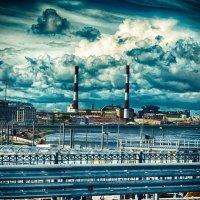 Питер съезд с нового виадука у площади Александра Невского :: Юрий Плеханов