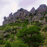 Крым с высоты гор :: Евгений Шестаков
