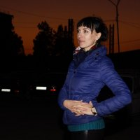 Ночь в Зеленокумске :: Наталия Сарана