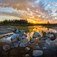 Картинный закат :: Фёдор. Лашков