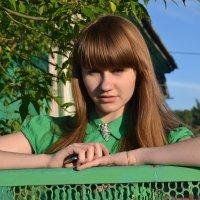У забора :: Anna Zolotareva