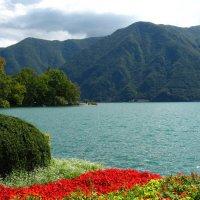 озеро в г. Лугано, Швейцария :: Дмитрий Родышевцев