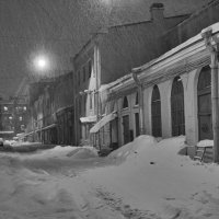Зима.Вечер.Снег. :: Anton Lavrentiev