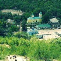 Монастырь Сахарна :: Надежда Елашко