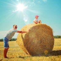 папа и сын :: Юлия Тарасенко
