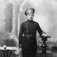 Первая мировая война. Молодой солдат Пётр Андреев (1915) :: Владимир Павлов