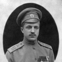 Первая мировая война. Канонир Пётр Андреев (1917) :: Владимир Павлов