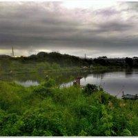 Рыбакам не страшен дождь (вечерний клёв) :: Евгений Кочуров