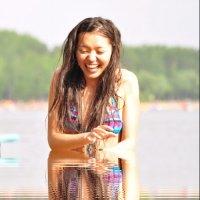 На озере :: Балнура Айкежанова