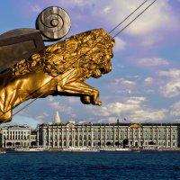 Лев над Невой :: Валентин Яруллин