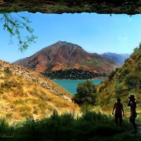 Взгляд из пещеры... :: Ольга Нагаева