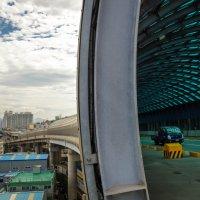 Туннель на съезде с моста Намхан :: Степан Филёв