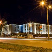 Академгородок (Новосибирск) ночью :: Александр Alexxnsk