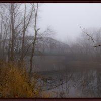 Река, мост, туман :: Яков Геллер
