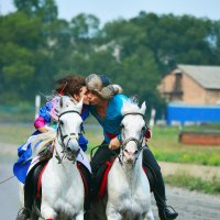 Азартный поцелуй :: юрий Амосов